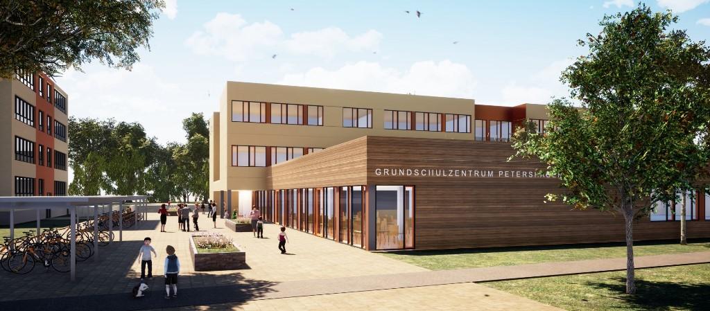 Vertrag für Grundschulerweiterung geschlossen